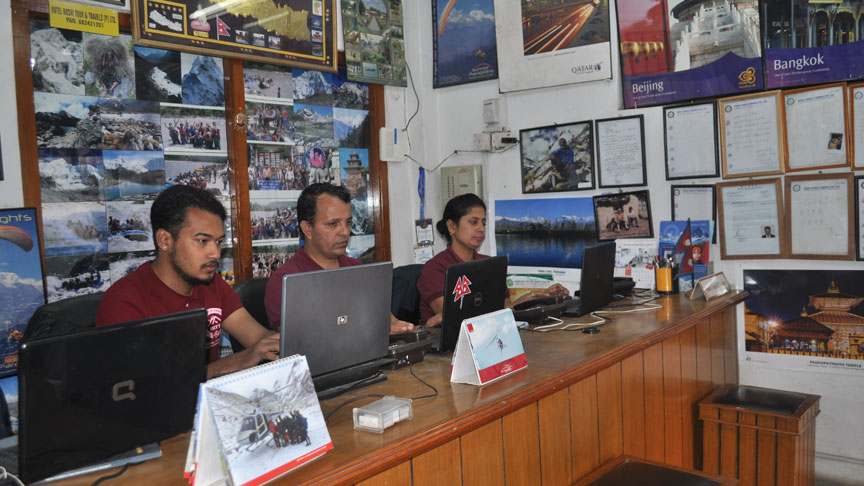 Office Nepal Tour Agency